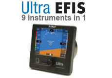 Ultra EFIS 9 Instruments in 1